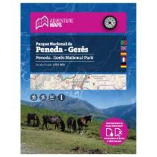Mapa Parque Nacional Peneda-Gerês